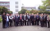 Teilnehmer der Delegation und Gastgeber