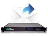 eArztbrief-Versand mit der DGN GUSbox 19'' und KV-Connect