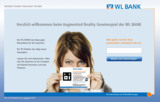 Innovatives Gewinnspiel der WL BANK mit AR-Anwendung
