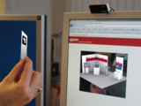 Der EuroCIS Messestand als Augmented Reality Anwendung