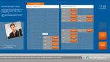 Interface der Anwendung Terminvereinbarung