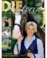 Die Reiterin - Cover der ersten Ausgabe