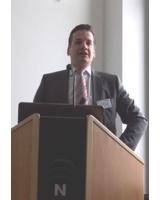 Marc Kloepfel, GF der Kloepfel Consulting GmbH, bei der Beratungsinitiative Mittelstand in Wuppertal
