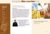 Screenschot www.biervonhier.net