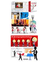Cartoons und Zeichentrick für Präsentationen, Lehrfilme, Online Videos und Banner Ads
