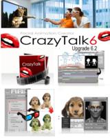 Neue visuelle 3D Stereo Ausgabe für Foto-Animation CrazyTalk 6
