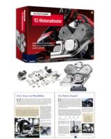 Franzis Lernpaket V2-Motorradmotor Bausatz