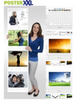 posterXXL Das neue Jahr mit schönen Fotos im Überblick und Termin-Planung