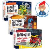 Neue Technik-Lernbaukästen -  Bionik-Roboter, Survival-Roboter und Helikopter