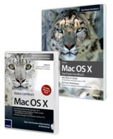 Praxisnahe Ratgeber, Nachschlagewerk oder Video Workshop für Mac OS X Snow Leopard