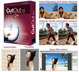 FRANZIS bringt neue Foto-Freistell-Software - pixxsel CutOut 3.0