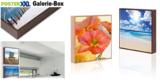 Innovative neue Produkte bei posterXXL: Die Galerie-Box - auch für zuhause!