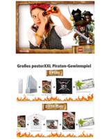 posterXXL und Disney machen aus eigenen Fotos piratenstarke Poster