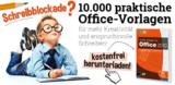 Franzis verschenkt 10.000 Officevorlagen - Hilfe für jeden Anlaß