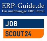 Die Logos von ERP-Guide.de und der JobScout24 GmbH