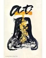 Cloche tibétaine, 1991, Lithografie mehrfarbig Ed. 75, 120 x 80 cm