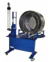 Reifenverpackungsgerät stretchfix LT-3410 für die kostenoptimierte Reifenumwicklung