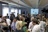 Mehr als 60. Gäste besuchten das 2. Businessfrühstück von DDD im Sommer diesen Jahres.