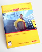 Mit dieser bildpersonalisierten Broschüre von DHL kam DigitalDruck Deutschland bis ins Finale.