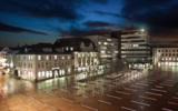 Der neue Standort zentral in exponierter Lage am Rathausplatz 21 in Lüdenscheid.