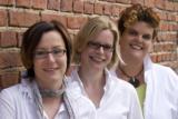 Netzwerkhof: Renate Köllner, Elke Pauly, Corinna Dröge