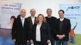 v.l. M.Tiedemann, M.Schmidt, C.Barg, D.Baumann, R.Baumann