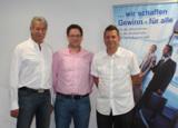 D. Baumann (MONDI), R. Baumann (MONDI), S. Wiech (Schwaben Hornets)