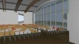"Im neuen Kongresszentrum ""kitzCongress"" werden in Kitzbühel internationale Topstandards erfüllt."