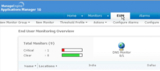 End User Monitoring Overview des Applications Manager