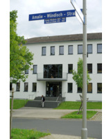 Das carts-Firmengebäude in der Amalie-Wündisch-Straße in Kassel