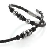 Neu: YuKoN Armbänder in geflochtenem Leder, von TeNo