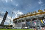 Das HR-Fernsehen übertrug live aus der Commerzbank Arena. Foto: Uli Planz. www.ulip.eu
