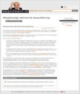 Neu auf bauprofessor.de: kostenlose VOB-Musterbriefe von Abnahmeverlangen bis VOB-Bauvertrag