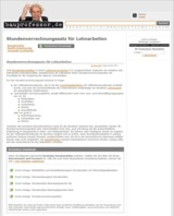Neu auf bauprofessor.de: Kostenlose Excel-Vorlagen für Stundenverrechnungssatz, Finanzplan...