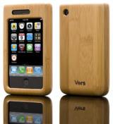 Edles Cover aus Holz für das iPhone