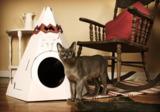 Loyal Luxe Tipi Indianerzelt für Katzen