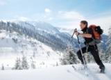 Skitourengeher im Karwendel
