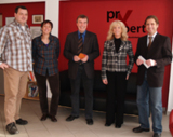 Bürgermeister Peter Unkel sowie Ortsbürgermeister Norbert Monnerjahn gratulierten zur Gründung.