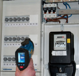 Anwedungsbild des Infrarot-Thermometers PCE-IVT 1
