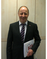 Der Geschäftsführer der Franz & Wach Personalservice GmbH, Gerhard Wach