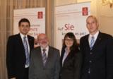 Koordinator Erich Hübner (2vl) mit seinen JobPaten