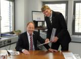 Gerhard Wach und Jens Zimmerningkat führen das Unternehmen