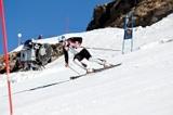 Skitraining auf dem Mölltaler Gletscher