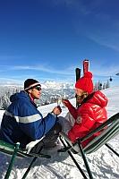 Erfrischend und prickelnd kann die Salzburger Sportwelt sein