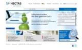 Neue Startseite hectas.de
