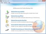 Firefox Backup 2011 von zebNet