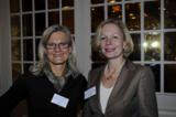 VdU-Regionaleiterin Dr. Karin Uphoff mit der Landesverbandsvorsitzenden Dr. Claudia Nagel