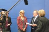 Dr. Karin Uphoff im Gespräch mit Thomas Sattelberger und Dr. Martine Herpers
