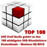 SEO Profi Berlin Sven Deutschländer ist einer der TOP 100 SEO-Dienstleister Deutschlands