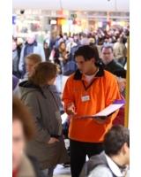 Positives Echo auf Informationsstände für Vereine der service 94 GmbH